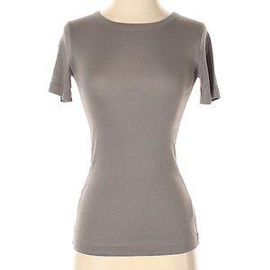 Vince Olive Green Short Sleeve scoop neck T-shirt